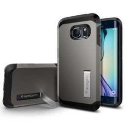 SPIGEN SGP TOUGH ARMOR  SAMSUNG GALAXY S6 EDGE GUNMETAL