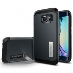 SPIGEN SGP TOUGH ARMOR SAMSUNG GALAXY S6 EDGE METAL SLATE