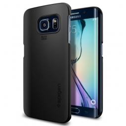SPIGEN SGP THIN FIT GALAXY S6 EDGE SMOOTH BLACK