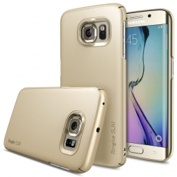 RINGKE SLIM GALAXY S6 EDGE ROYAL GOLD