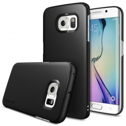RINGKE SLIM GALAXY S6 EDGE BLACK