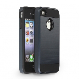 TECH-PROTECT BRUSCHED IPHONE 4/4S METAL SLATE