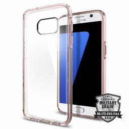 SPIGEN SGP ULTRA HYBRID GALAXY S7 ROSE CRYSTAL