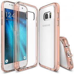 RINGKE FUSION GALAXY S7 ROSE GOLD