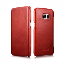 ICARER VINTAGE GALAXY S7 EDGE RED