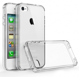 TECH-PROTECT SLIM HYBRID IPHONE 4/4S CRYSTAL
