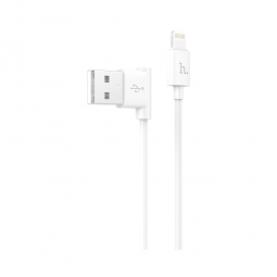 HOCO LIGHTNING CABLE 120CM WHITE