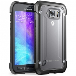 SUPCASE UNICORN PREMIUM GALAXY S6 ACTIVE FROST/BLACK
