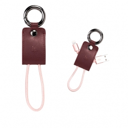 HOCO KEY CHAIN LIGHTNING CABLE 15CM RED