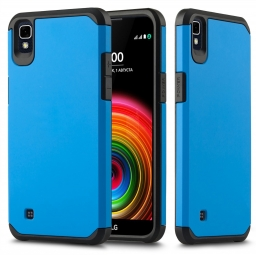 TECH-PROTECT TOUGH LG X POWER BLUE