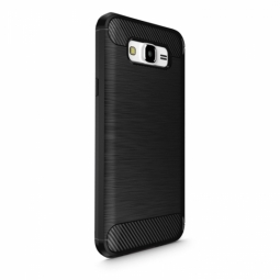 TECH-PROTECT TPUCARBON GALAXY J7 2016 BLACK