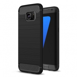 TECH-PROTECT TPUCARBON GALAXY S7 BLACK