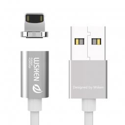 WSKEN X-CABLE MAGNETIC LIGHTNING CABLE SILVER