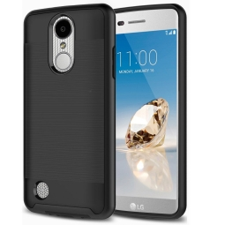 TECH-PROTECT BRUSCHED LG K8 2017 BLACK