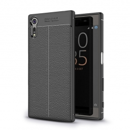 TECH-PROTECT TPULEATHER XPERIA XZ BLACK