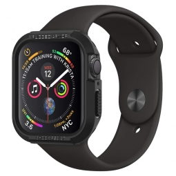 SPIGEN RUGGED ARMOR APPLE WATCH 4/5/6/SE (40MM) BLACK