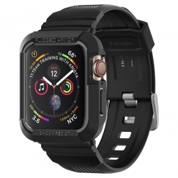 "SPIGEN RUGGED ARMOR ""PRO"" APPLE WATCH 4/5 (44MM) BLACK"
