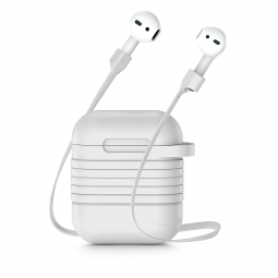 BASEUS AIRPODS CASE & STRAP WHITE