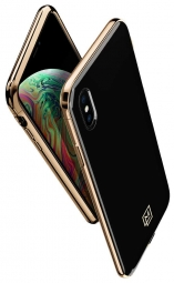 SPIGEN LA MANON ETUI IPHONE XS MAX GOLD BLACK