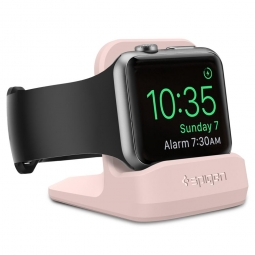 SPIGEN S350 NIGHT STAND APPLE WATCH 1/2/3/4 PINK SAND