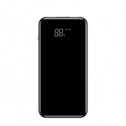 BASEUS FCBW POWER BANK 8000MAH & WIRELESS CHARGER BLACK