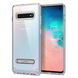 "SPIGEN ULTRA HYBRID ""S"" GALAXY S10 CRYSTAL CLEAR"
