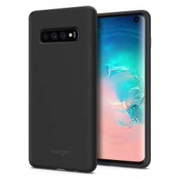 SPIGEN SILICONE FIT GALAXY S10 BLACK