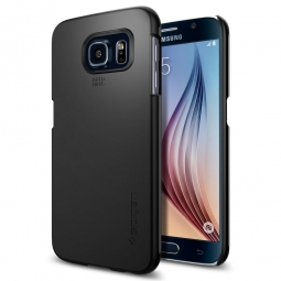 SPIGEN THIN FIT GALAXY S6 SMOOTH BLACK