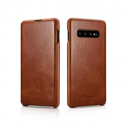 ICARER VINTAGE GALAXY S10 BROWN