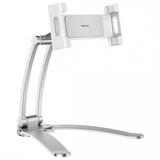 STOJAK ROCK UNIVERSAL STAND SMARTPHONE & TABLET SILVER