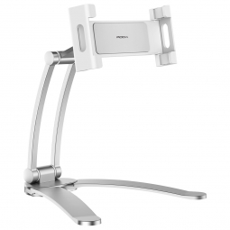 ROCK UNIVERSAL STAND SMARTPHONE & TABLET SILVER