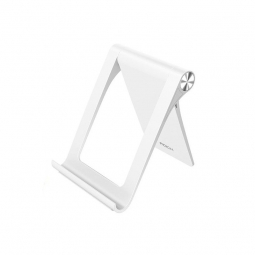 ROCK UNIVERSAL STAND SMARTPHONE & TABLET WHITE