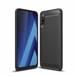 TECH-PROTECT TPUCARBON GALAXY A70 BLACK
