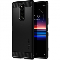SPIGEN RUGGED ARMOR SONY XPERIA 1 MATTE BLACK