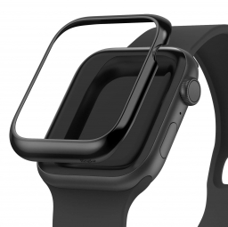 RINGKE BEZEL STYLING APPLE WATCH 4/5/6/SE (44MM) GLOSSY BLACK