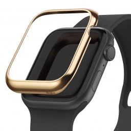 RINGKE BEZEL STYLING APPLE WATCH 1/2/3 (42MM) GLOSSY GOLD