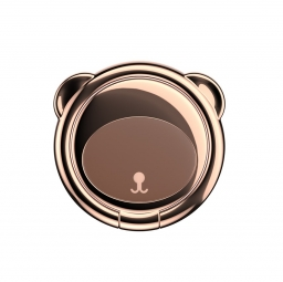 BASEUS MAGNETIC BEAR PHONE RING BROWN