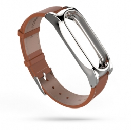 TECH-PROTECT HERMS XIAOMI MI BAND 3/4 BROWN