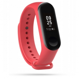 TECH-PROTECT SMOOTH XIAOMI MI BAND 3/4 RED
