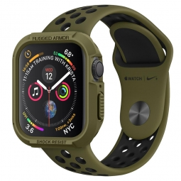 SPIGEN RUGGED ARMOR APPLE WATCH 4/5 (44MM) OLIVE GREEN