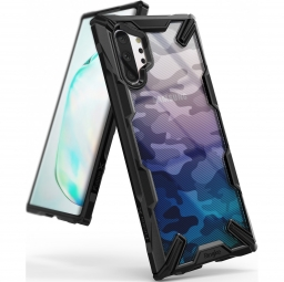 RINGKE FUSION X GALAXY NOTE 10+ PLUS CAMO BLACK