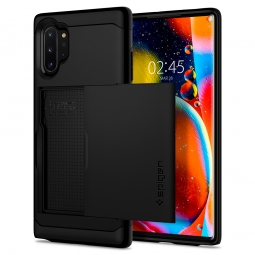 SPIGEN SLIM ARMOR CS GALAXY NOTE 10+ PLUS BLACK