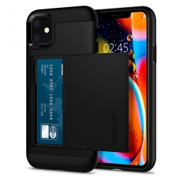 SPIGEN SLIM ARMOR CS IPHONE 11 BLACK