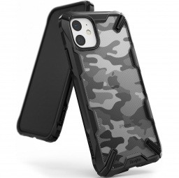 RINGKE FUSION X IPHONE 11 CAMO BLACK
