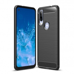 TECH-PROTECT TPUCARBON MOTOROLA ONE ACTION BLACK