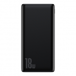 BASEUS BIPOW PD3.0 & QC3.0 POWER BANK 10000MAH BLACK