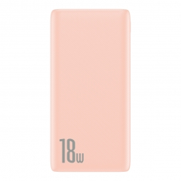 BASEUS BIPOW PD3.0 & QC3.0 POWER BANK 10000MAH PINK