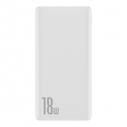 BASEUS BIPOW PD3.0 & QC3.0 POWER BANK 10000MAH WHITE