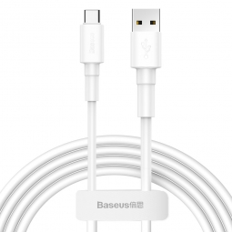 BASEUS MINI WHITE TYPE-C CABLE 100CM WHITE