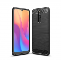 TECH-PROTECT TPUCARBON XIAOMI REDMI 8 BLACK